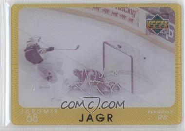 1997-98 Upper Deck Diamond Vision Signature Moves #S3 - Jaromir Jagr