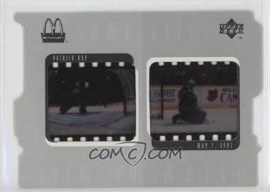 1997-98 Upper Deck Ice McDonald's [???] #F5 - Patrick Roy