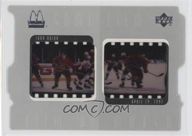 1997-98 Upper Deck McDonald's - Game Film #F8 - Saku Koivu