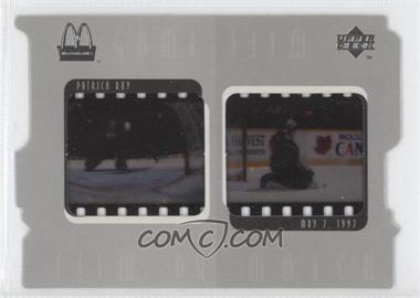 1997-98 Upper Deck McDonald's Game Film #F5 - Patrick Roy