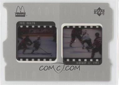 1997-98 Upper Deck McDonald's Game Film #F6 - Paul Kariya