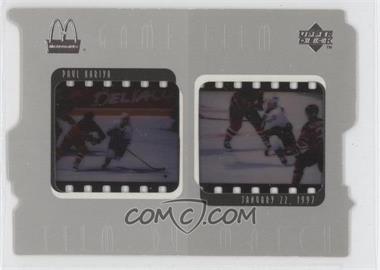 1997-98 Upper Deck McDonald's Game Film #F6 - Paul Kariya