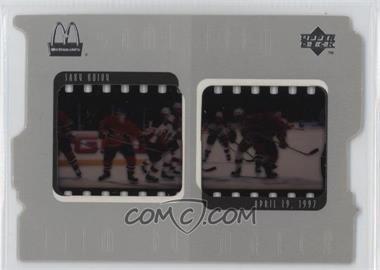 1997-98 Upper Deck McDonald's Game Film #F8 - Saku Koivu