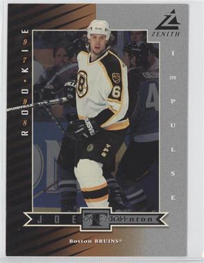 1997-98 Zenith 5X7 - [???] #Z74 - Joe Thornton