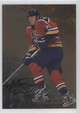 1998-99 Be A Player - [Base] - Gold Autographs #206 - Mark Parrish