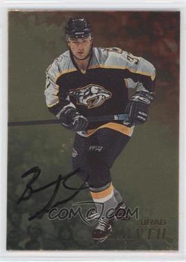 1998-99 Be A Player - [Base] - Gold Autographs #75 - Brad Smyth