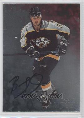 1998-99 Be A Player - [Base] - Silver Autographs #75 - Brad Smyth