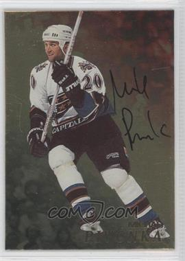 1998-99 Be A Player Gold Autographs #150 - Michal Pivonka