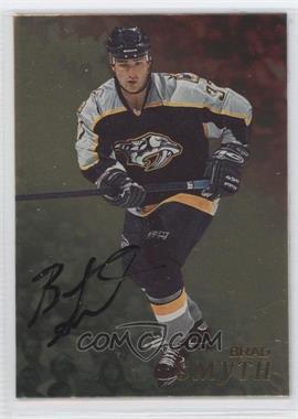 1998-99 Be A Player Gold Autographs #75 - Brad Smyth