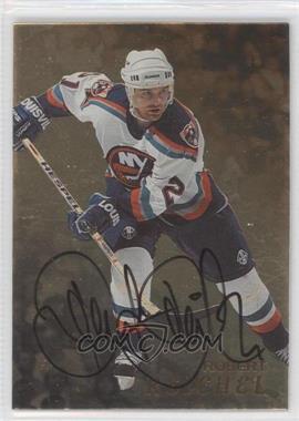 1998-99 Be A Player Gold Autographs #86 - Robert Reichel