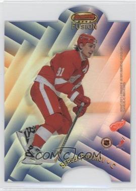 1998-99 Bowman's Best Mirror Image Fusion Refractor #F16 - Sergei Fedorov, Mark Recchi /100