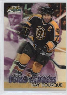 1998-99 O-Pee-Chee Chrome - Board Members - Refractor #B4 - Ray Bourque