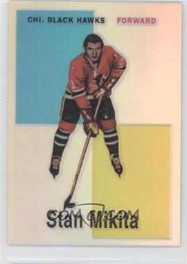 1998-99 O-Pee-Chee Chrome Blast from the Past Reprints Refractor #8 - Stan Mikita