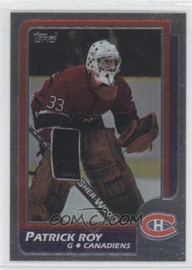 1998-99 O-Pee-Chee Chrome Blast from the Past Reprints #4 - Patrick Roy