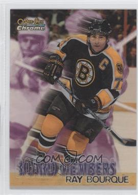 1998-99 O-Pee-Chee Chrome Board Members Refractor #B4 - Ray Bourque