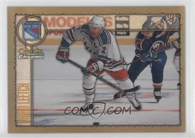 1998-99 O-Pee-Chee Chrome Refractor #75 - Brian Leetch