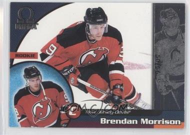 1998-99 Pacific Omega Opening Day Issue #139 - Brendan Morrison /56