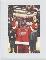 Steve Yzerman (Holding the Stanley Cup)