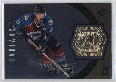 1998-99 SPx Finite Radiance #166 - Peter Forsberg /875