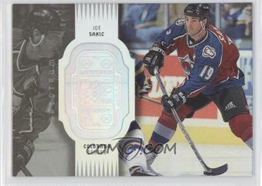1998-99 SPx Finite Spectrum #22 - Joe Sakic /300