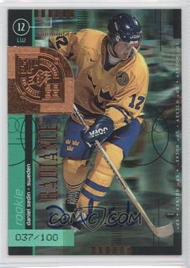 1998-99 SPx Top Prospects - [Base] - Radiance #79 - Daniel Sedin /100