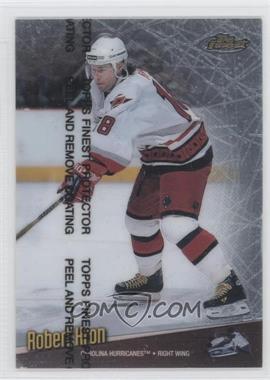 1998-99 Topps Finest Refractor #97 - Robert Kron