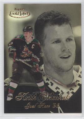 1998-99 Topps Gold Label - Goal Race '99 #GR6 - Keith Tkachuk