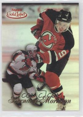1998-99 Topps Gold Label Class 2 Red Label #82 - Brendan Morrison /50