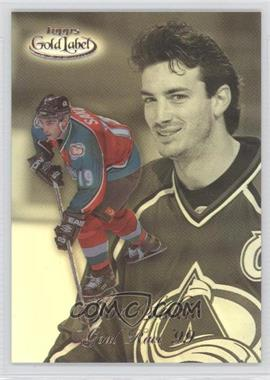 1998-99 Topps Gold Label Goal Race '99 #GR10 - Joe Sakic