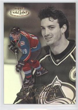 1998-99 Topps Gold Label Goal Race '99 #GR10 - Joe Sakic