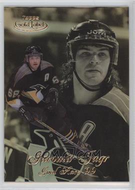 1998-99 Topps Gold Label Goal Race '99 #GR5 - Jaromir Jagr