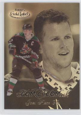 1998-99 Topps Gold Label Goal Race '99 #GR6 - Keith Tkachuk