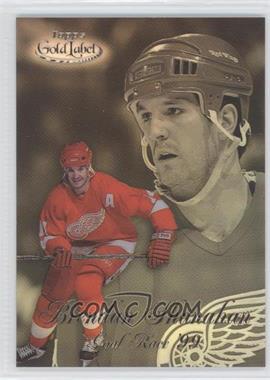 1998-99 Topps Gold Label Goal Race '99 #GR8 - Brendan Shanahan