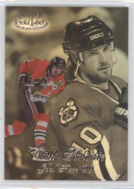 1998-99 Topps Gold Label Goal Race '99 #GR9 - Tony Amonte