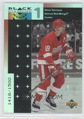 1998-99 Upper Deck Black Diamond Myriad #M19 - Steve Yzerman /1500