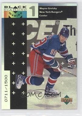 1998-99 Upper Deck Black Diamond Myriad #M27 - Wayne Gretzky /1500