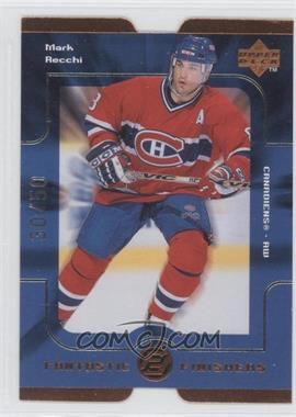 1998-99 Upper Deck Fantastic Finishers Die-Cut Quantum Level 2 #FF19 - Mark Recchi /50