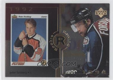 1998-99 Upper Deck Gold Reserve #29 - Peter Forsberg