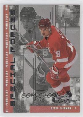 1998-99 Upper Deck MVP - Special Forces #F07 - Steve Yzerman