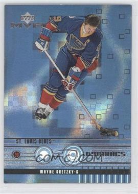 1998-99 Upper Deck MVP Dynamics #D11 - Wayne Gretzky