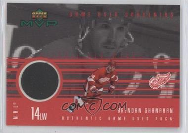1998-99 Upper Deck MVP Game Used Souvenirs #GU-BS - Brendan Shanahan