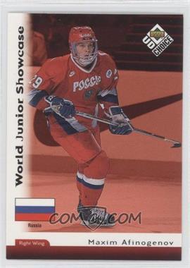 1998-99 Upper Deck UD Choice - [Base] #282 - Maxim Afinogenov