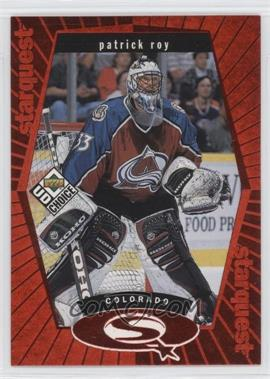 1998-99 Upper Deck UD Choice - Starquest - Red #SQ3 - Patrick Roy