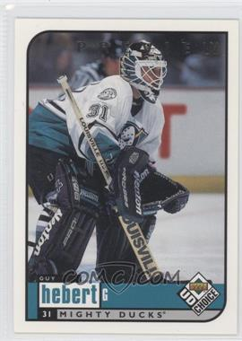1998-99 Upper Deck UD Choice Preview #1 - Guy Hebert