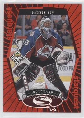 1998-99 Upper Deck UD Choice Starquest Red #SQ3 - Patrick Roy