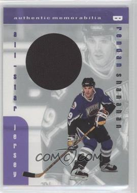 1999-00 In the Game Be A Player Memorabilia All-Star Jersey #J-23 - Brendan Shanahan