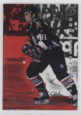 1999-00 In the Game Be A Player Millennium Signature Series - Calder Contenders - Ruby #C-24 - Maxim Afinogenov /1000