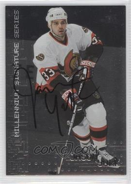 1999-00 In the Game Be A Player Millennium Signature Series Autographs [Autographed] #175 - Jason York