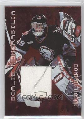 1999-00 In the Game Millennium Signature Series Goalie Memorabilia #G-07 - Dominik Hasek