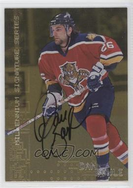 1999-00 In the Game Millennium Signature Series Gold Autograph [Autographed] #114 - Dan Boyle